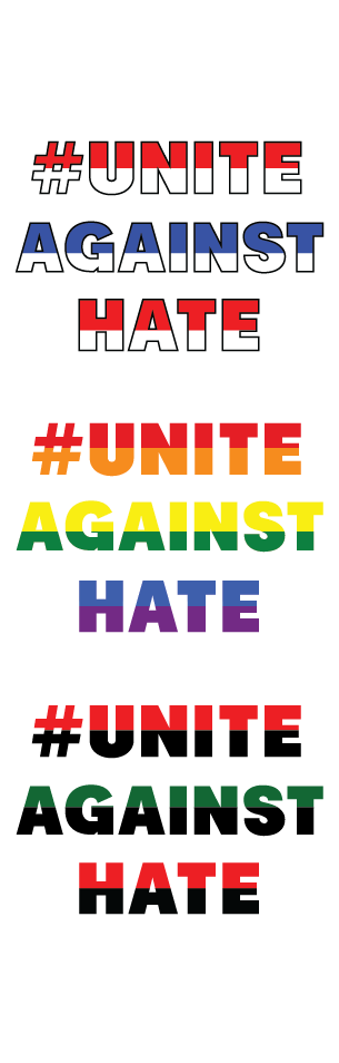 Unite Against Hate Logos