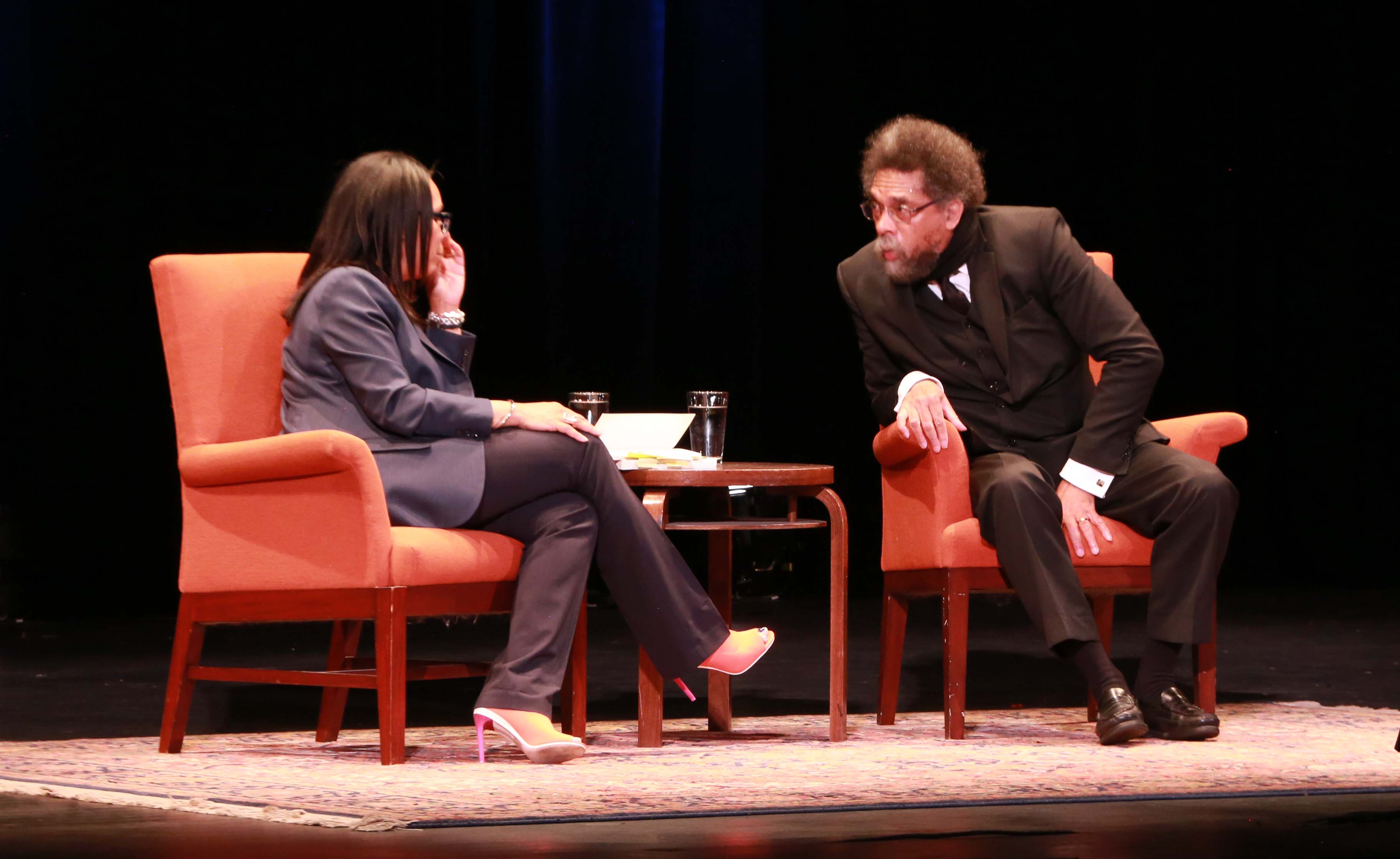 HRC Director Sheryl Davis in conversation with Dr Cornel West
